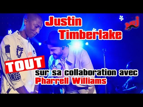 🎧 NRJ - Justin Timberlake : tout sur sa collaboration avec Pharrell Williams sur «Supplies»