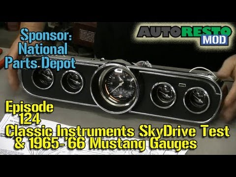 classic instruments skydrive 65 66 mustang instrument panel classic instruments skydrive 65 66 mustang instrument panel build episode 124 autorestomod
