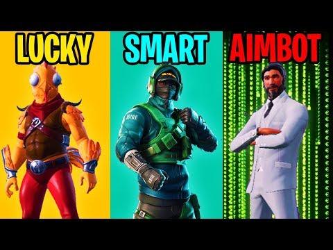 lucky-vs-smart-vs-aimbotter---fortnite-battle-royale