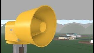 ROBLOX Tornado Siren #12: ACA P-10 At Dawn County, All Tones