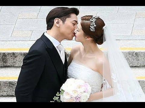 Shinhwas Eric And Actress Na Hye Mi Reveal Lovely Wedding Photos