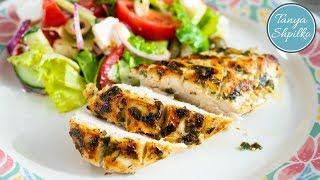 Вкусное и Сочное Куриное Филе в Маринаде на сковороде + в духовке | Tanya Shpilko