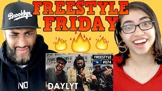 MY DAD REACTS Daylyt Freestyle w/ The L.A. Leakers - Freestyle #074 REACTION
