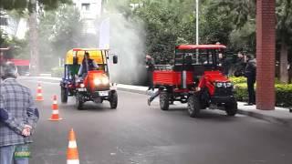 Katsu Bahçe Traktörü - Tanıtım, İlaçlama