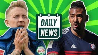 Boateng glücklich beim FC Bayern! HSV: Titz bleibt bei Abstieg! Rekordsperre für Turan! Daily News