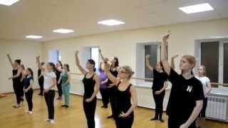 Боди балет - Открытый урок в школе танцев Драйв - октябрь 2015