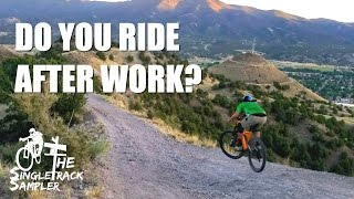 AFTER WORK RIDE? YES PLEASE! | Salida Mountain biking - Little Rattler and Burn Pile