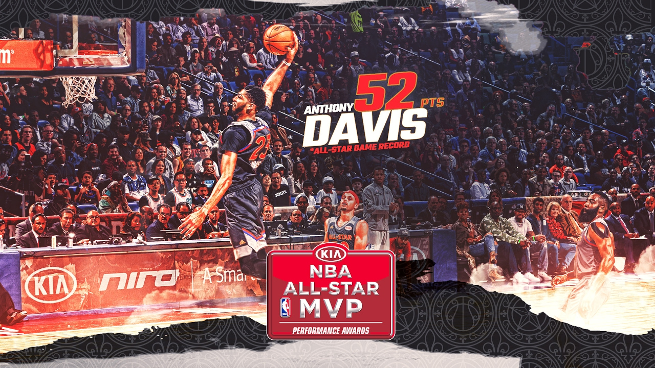 Image result for anthony davis 2017 nba all-star mvp