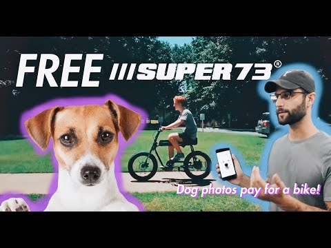 We surprised the dog kid with his dream bike!