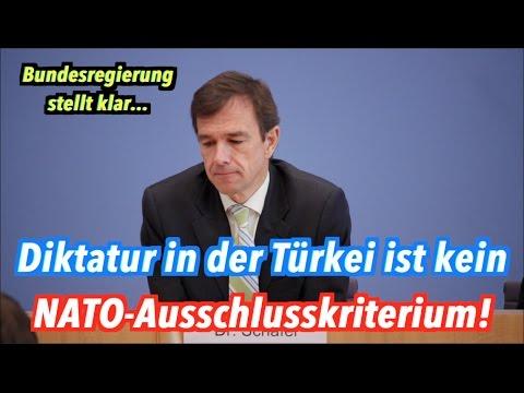 Bundesregierung: Türkei kann trotz Diktatur Mitglied der NATO bleiben