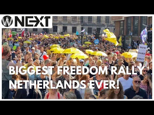 Weltschmerz Next - Biggest Freedom Rally Netherlands Ever!