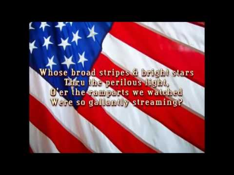 United States of America Full National Anthem 1 hour
