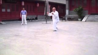 Tai chi chuan qi gong énergie explosive pour combat (fight) réalisé en Chine arts martiaux secret