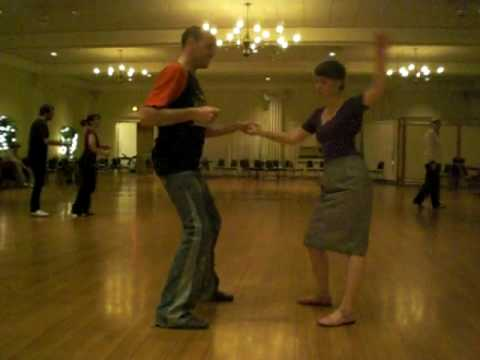 Larry Peacock and Charlotte Erfurth - Lindy Hop