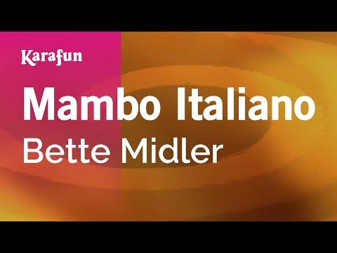 Karaoke Mambo Italiano - Bette Midler *