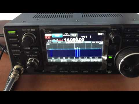 Magnetic loop V2 quick check on 14mhz Part8