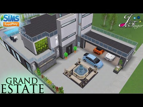 Sims FreePlay 🤩🏛 | GRAND ESTATE | 🚘🚖 By Joy.