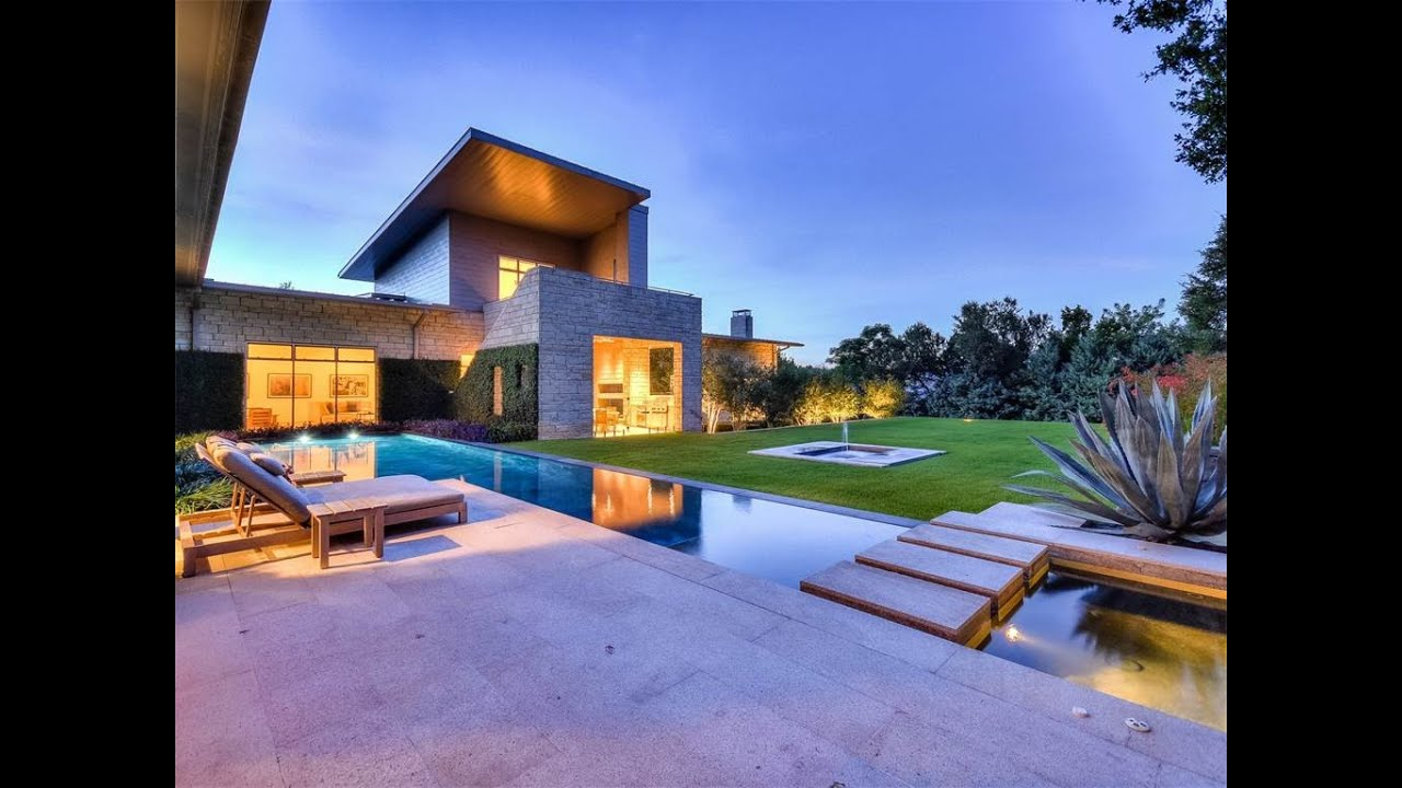 Exquisite contemporary architecture in austin texas