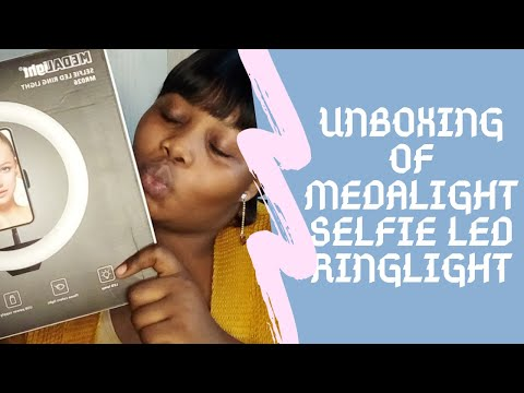 UNBOXING RINGLIGHT FT ROREM COSMETICS AND BUKIES HAIR