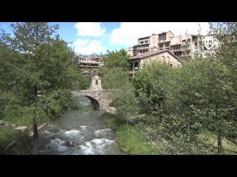 3  Església de Sant Esteve, Molins i Pont de la Vila ANGLÈS