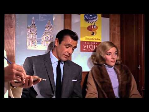 From Russia with Love,  1963 ,  Robert Shaw  train   720p