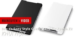 khui hop bao da sony style cover stand for xperia z2 - wwwmainguyenvn
