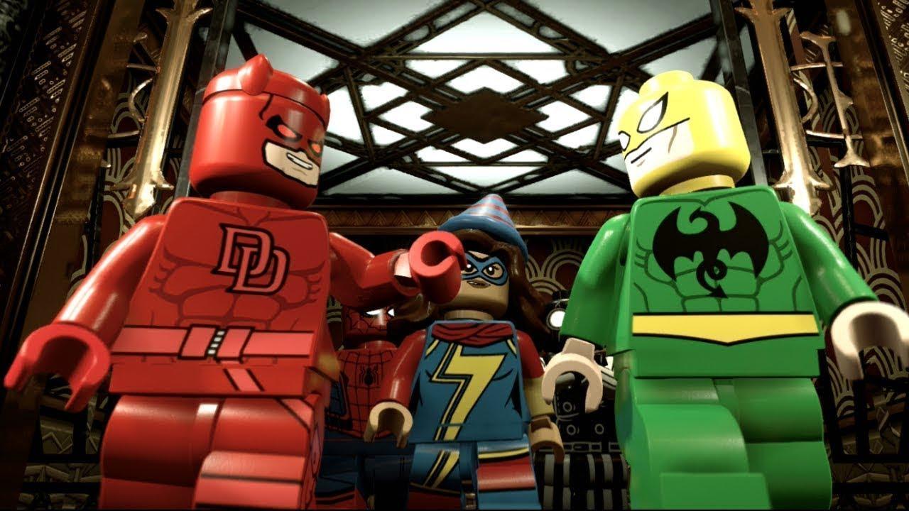 lego marvel super heroes 2 walkthrough noir night mayor ...