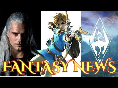 ZELDA TV SHOW, WITCHER REVEAL, DISCWORLD AT BBC - FANTASY NEWS thumbnail
