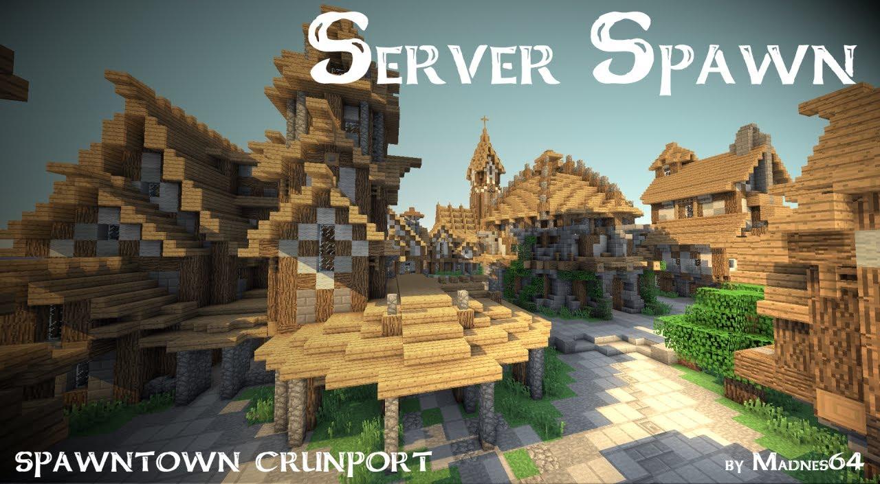 EPIC Minecraft Medieval Server Spawn DOWNLOAD YouTube - Minecraft mittelalter haus schematic