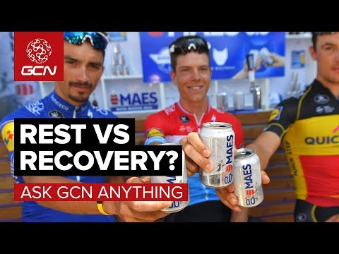 Rest Vs Recovery For Cyclists | Ask GCN Anything