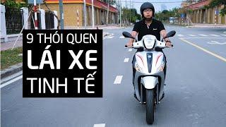 9 Điều nên làm để trở thành người đi xe máy tinh tế   Xe.tinhte.vn