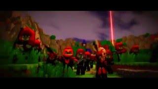 Клип minecraft ''Война'' Music video#55