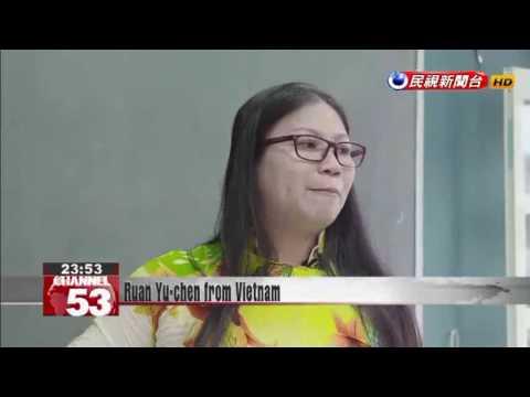 Ruan Yu-chen from Vietnam finds success as language teacher in Taiwan