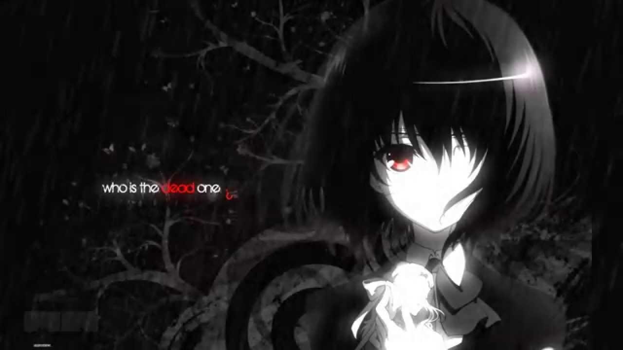 Download Sad Girl Wallpaper With Quotes Themesong Another Anime Youtube