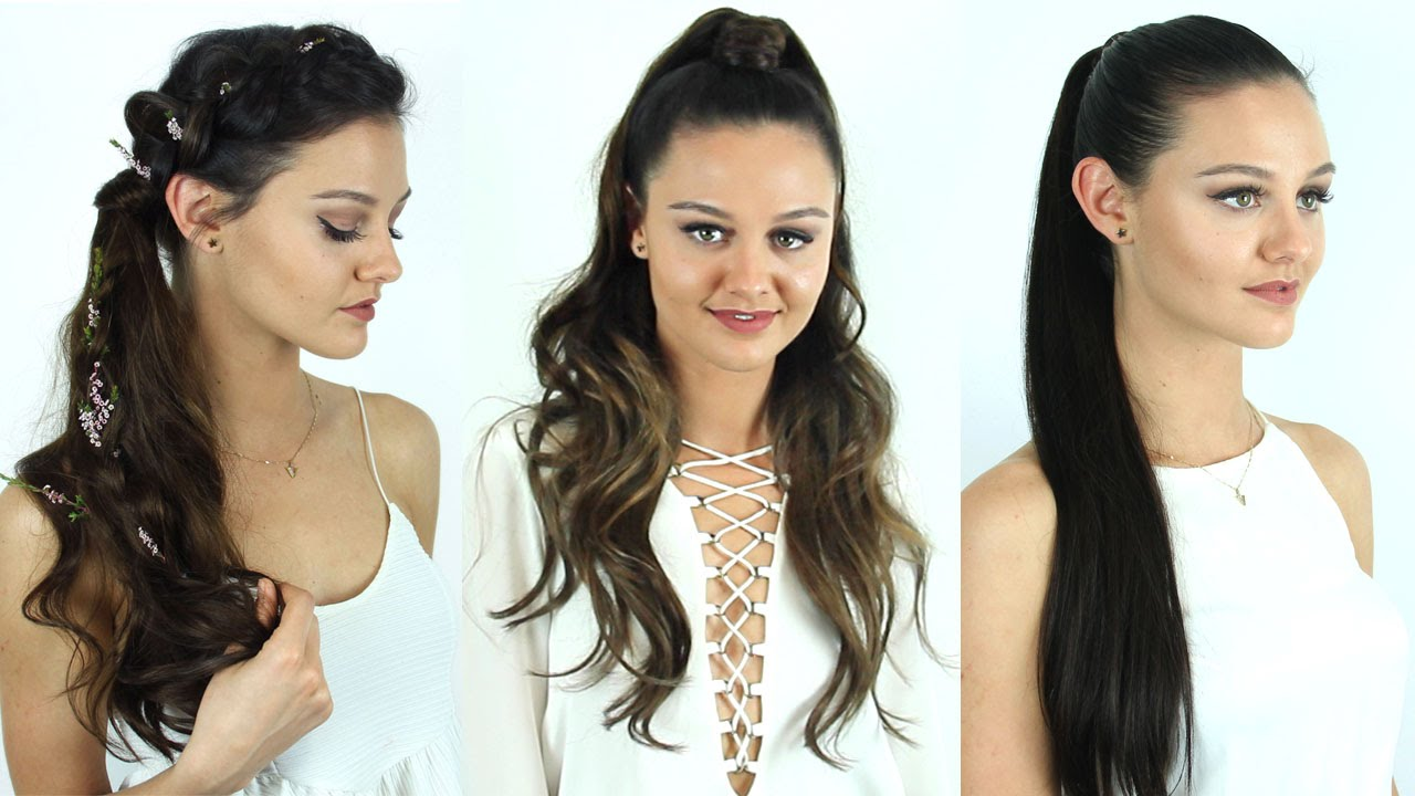 3 Ways To Wear Zala Ponytail Extensions Zala Hair Youtube