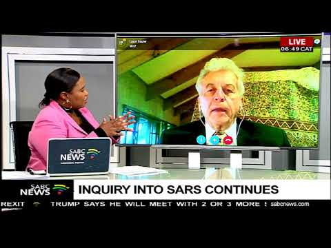 DISCUSSION: SARS Inquiry with Leon Louw