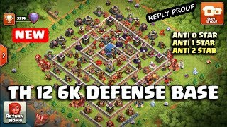 Th 12 New Legend 6K Defense Base W/Reply Proof 2018 New Season | Anti 0 Star /Anti 2 Star
