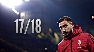 Gianluigi Donnarumma  Saves Compilation  201718AC MilanHD