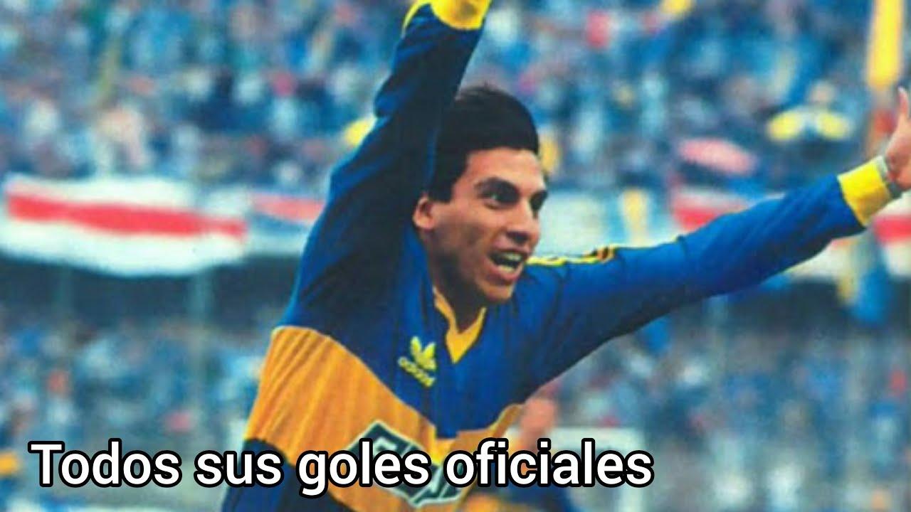 Todos los goles oficiales de Alfredo Graciani en Boca
