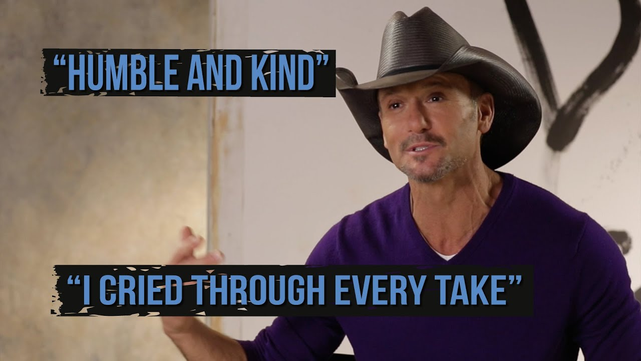 "Tim McGraw on ""Humble and Kind"": I Cried Through Every Take"