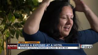 Exposed in Primm: Naked woman claims unknown man entered her hotel room