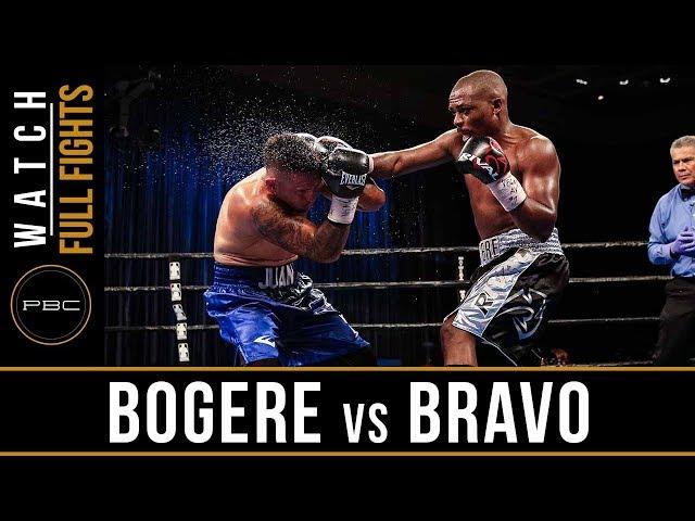 Bogere vs Bravo FULL FIGHT: August 3, 2018