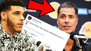 LONZO BALL SPILLS THE TRUTH ABOUT THE LAKERS TRADE