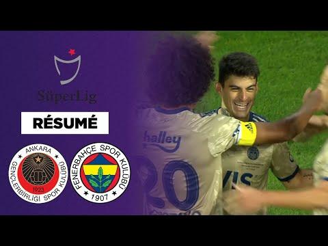 Résumé : Fenerbahçe atomise Gençlerbirligi 5-1 !