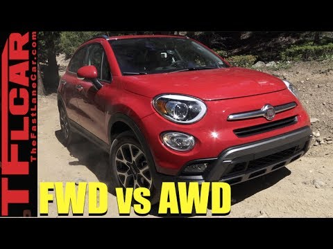 2017 Fiat 500X AWD vs Fiat 500 FWD vs Gold Mine Hill Off Road Mashup Review