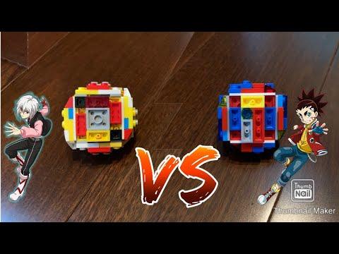Epic battles! World Spriggan vs Infinite Achilles | LEGO beyblade battles
