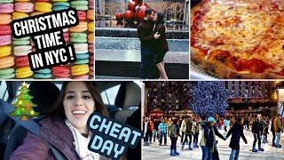Christmas in NYC | CHEAT DAY