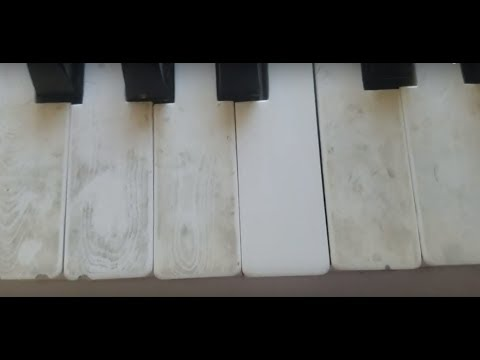 Super Easy Way to Clean Ivory Piano Keys