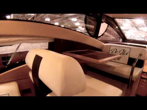Azimut 48 Motor Yacht tour at the Atlantic City NJ Boat Show by ABK VIDEO