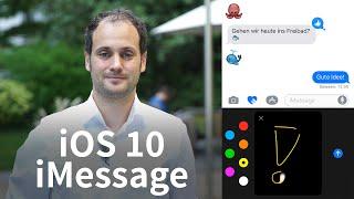 iMessage in iOS 10: Neue Funktionen der Nachrichten-App auf dem iPhone - GIGA.DE